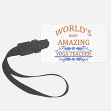 Yoga Teacher Luggage Tag