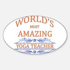 Yoga Teacher Decal