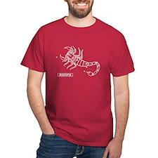 Scorpio (Celestial) Zodiac T-Shirt