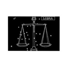 Libra (Celestial) Zodiac Rectangle Magnet
