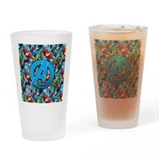 Circle A Avengers Drinking Glass