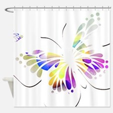 Purple And Yellow Shower Curtains Purple And Yellow Fabric Shower Curtain L