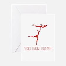 The Iron Lotus Greeting Cards (Pk of 10)