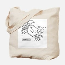Cancer (Celestial) Zodiac Tote Bag