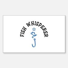 Fish Whisperer Decal
