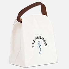 Fish Whisperer Canvas Lunch Bag
