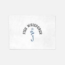 Fish Whisperer 5'x7'Area Rug