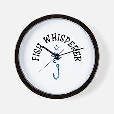 Fish Whisperer Wall Clock