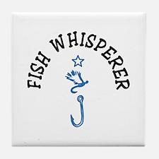 Fish Whisperer Tile Coaster