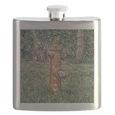 Decaying Fire Hydrant Flask