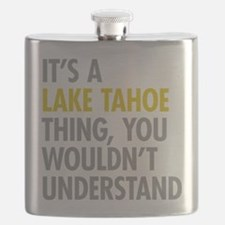 Its A Lake Tahoe Thing Flask