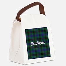 Tartan - Davidson Canvas Lunch Bag