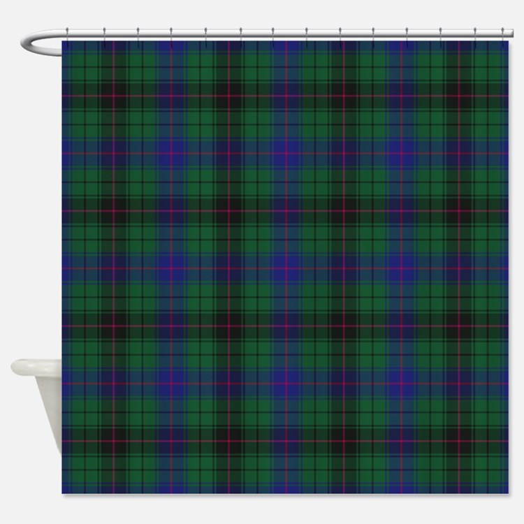 Tartan - Davidson Shower Curtain
