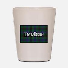 Tartan - Davidson Shot Glass