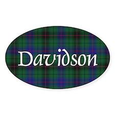 Tartan - Davidson Decal
