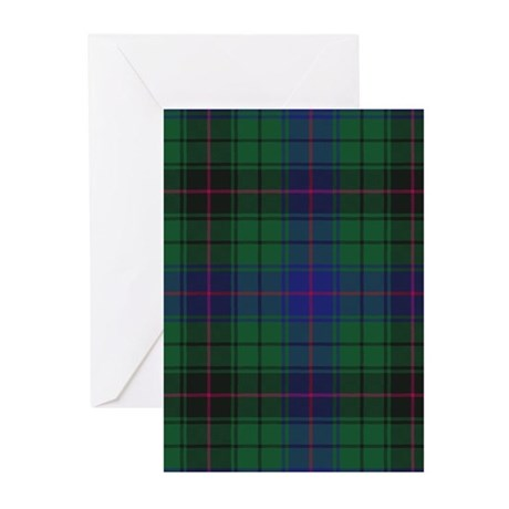 Tartan - Davidson Greeting Cards (Pk of 20)