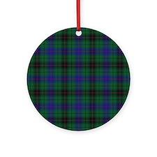 Tartan - Davidson Ornament (Round)