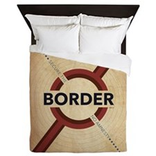 Secure The Border Queen Duvet
