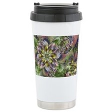 Fractal Wildflowers Travel Mug