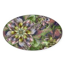 Fractal Wildflowers Decal