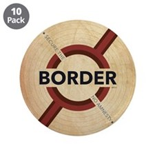 """Secure The Border 3.5"""" Button (10 pack)"""