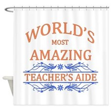 Teacher's Aide Shower Curtain