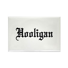 Hooligan Rectangle Magnet