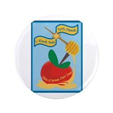 "Rosh Hashanah 3.5"" Button (100 Pack)"