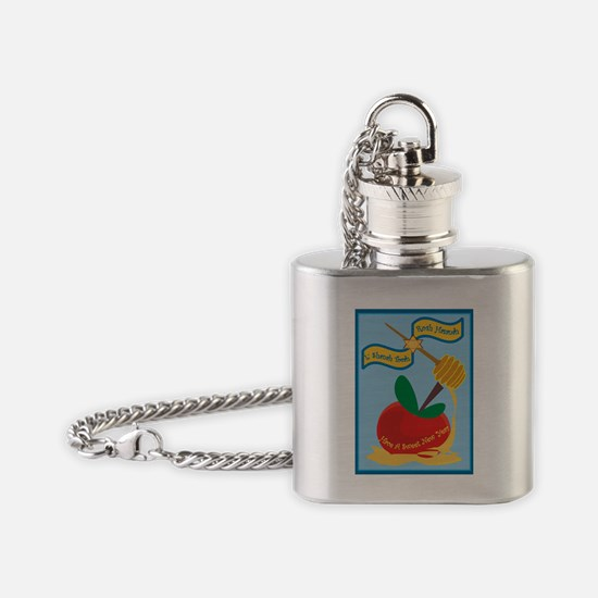 Rosh Hashanah Flask Necklace