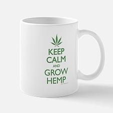 Keep Calm and Grow Hemp - Green Mugs
