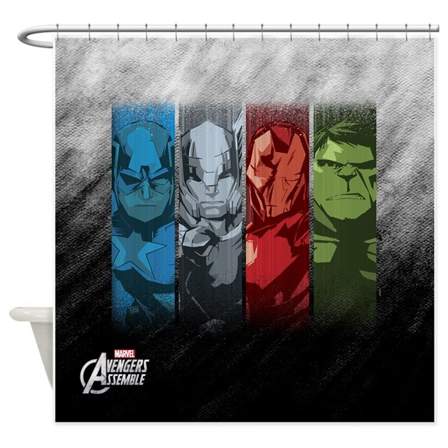 Avengers assemble curtains