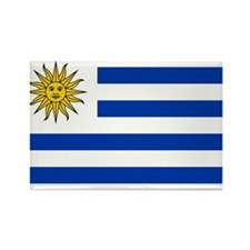 Uruguay Flag Rectangle Magnet