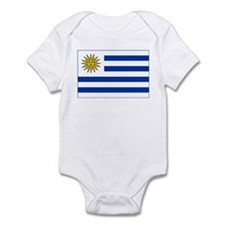 Uruguay Flag Infant Bodysuit