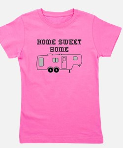 Home Sweet Home Fifth Wheel Girl's Tee