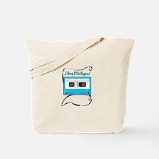 I Love Mixtapes Tote Bag