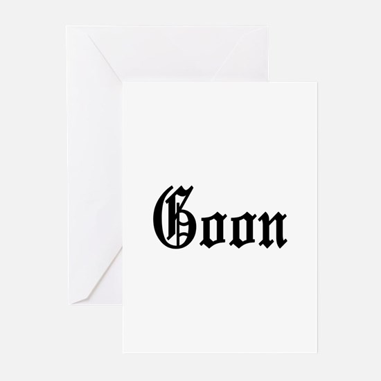 Goon Greeting Cards (Pk of 10)