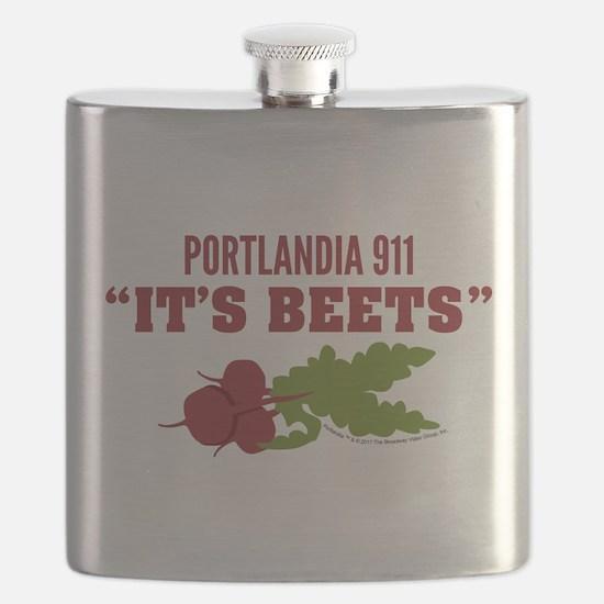 It's Beets Portlandia 911 Flask