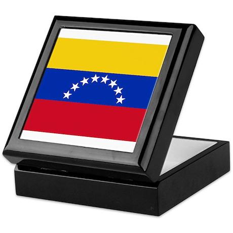 Venezuela Flag Keepsake Box