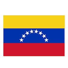 Venezuela Flag Postcards (Package of 8)