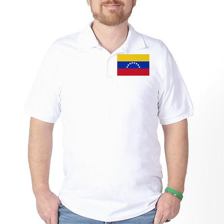Venezuela Flag Golf Shirt