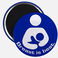 Breastfeeding: Breast Is Best Magnet