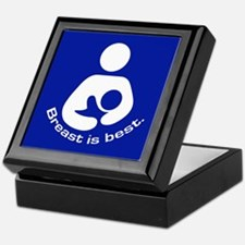 Breastfeeding: Breast Is Best Keepsake Box
