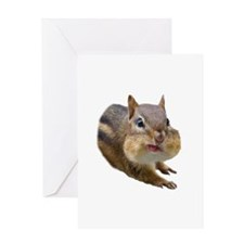 Funny Chipmunk Greeting Card