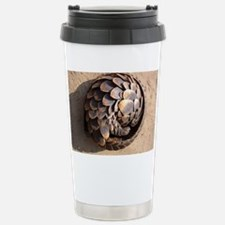 curled up pangolin Stainless Steel Travel Mug