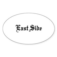 East Side Oval Bumper Stickers