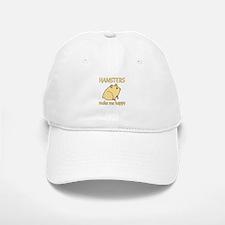 Hamster Happy Baseball Baseball Cap