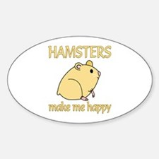 Hamster Happy Decal