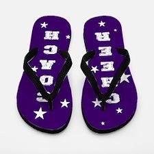 Cheer Coach Flip Flops