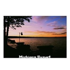 Michigan Sunset Postcards (Package of 8)