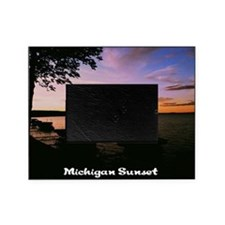Michigan Sunset Picture Frame